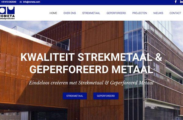 Nieuws   Nieuwe Website   Rometa Metaalproducten