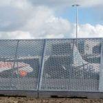 Project | Blast Fences Schiphol | Amsterdam | Rometa Metaalproducten