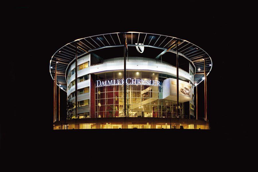 Project   Daimler Chrysler   Utrecht   Rometa Metaalproducten
