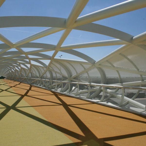 Project   De Groene Verbinding   Rotterdam   Rometa Metaalproducten