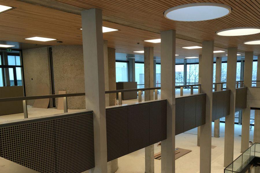 Project | Erasmus Universiteit | Rotterdam | Rometa Metaalproducten