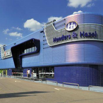 Project | Retailpark | Roermond | Rometa Metaalproducten
